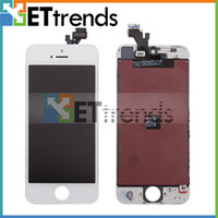 Wholesale LCD Screen for iPhone G Display Front Assembly Touch Panel Digitizer Full Set Black White AF195