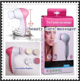 Wholesale In Multifunction Electric Face Facial Deep Cleansing Brush Spa Skin Care massage