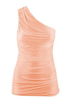 Wholesale New style Draped Shoulder Slim stretch Tank Tops