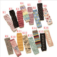 Wholesale Baby Socks Lace Leg Warmers Knee Pad Children Legging Kids Toddler High Socks Stocking Pairs C0459