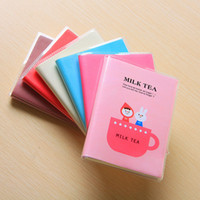 Wholesale Diary Notepad rubber book Lovely tea time diary Office amp School Supplies