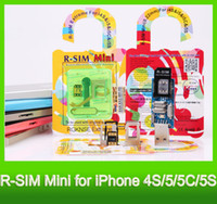 Wholesale R SIM Mini RSIM Mini R SIM Mini RGKNSE EXtreme thin film unlock card for i4S C S IOS