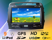 Wholesale New Car Dvd Gps Navigation Radio Audio Bluetooth TV AM FM For TOYOTA LAND CRUISER