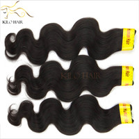Wholesale Unprocessed Brazilian Human Hair Weave Dyeable Top Quality Body Wave Virgin Hair Extensions DHL Fast Shipping
