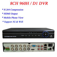 Wholesale ch dvr with networking H dvr support HDMI G WIFI P2P