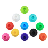 Wholesale Colorful eGo battery base silicone sucker for holding ego battery electronic cigarettes E cig atomizer fit for all ego battery clearomizer