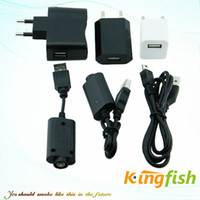 Wholesale Kingfish Electronic Cigarette E Cigarette Ego Battery Charger Wall Charger for USA EU UK AU ego battery charger usb cable Charger for Iphone