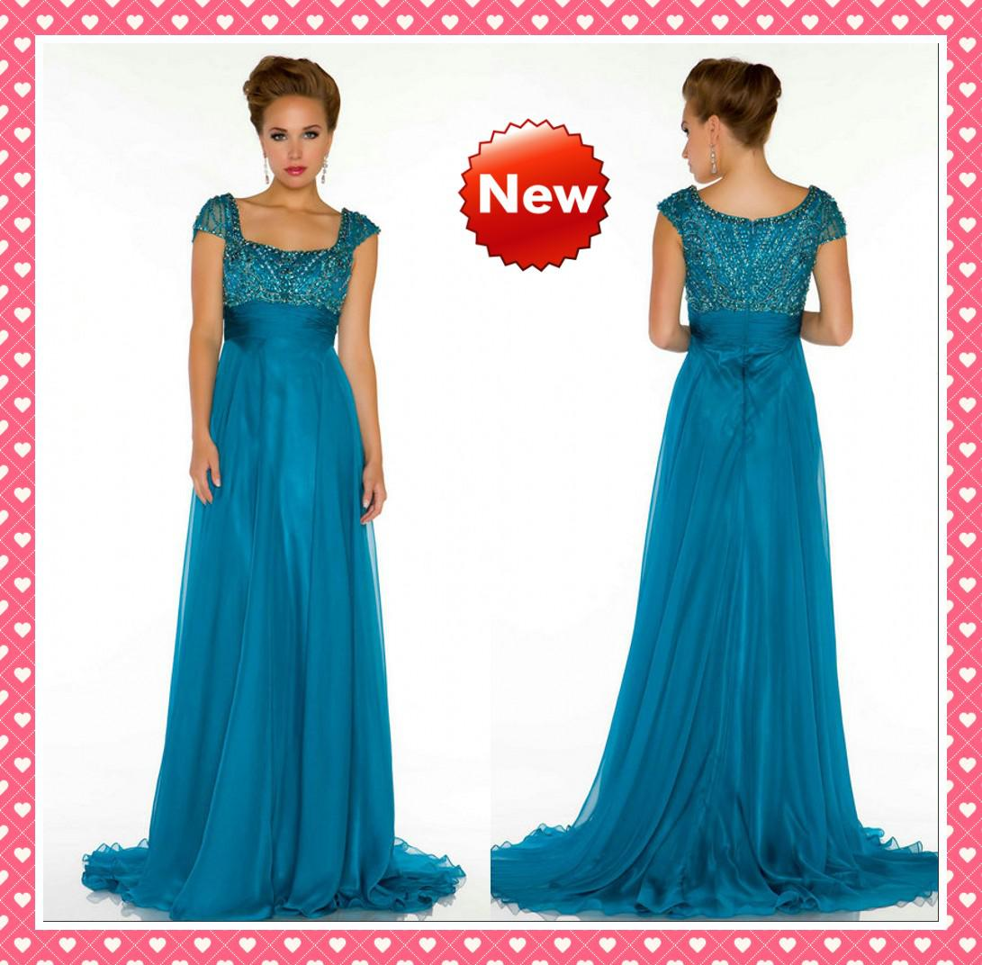 Attractive Flattering Mother Of The Bride Dresses Embellishment ...