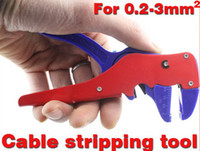 Wholesale cable stripping tool automatic wire stripper for single or multiple cables section to mm2
