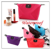Wholesale Hot Make Up Cosmetic Bag Waterproof Nylon Travel Case Wallet Purse Candy Colors