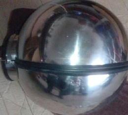 Wholesale Stainless Steel head cover gear Sphere shape headgear SM Bondage lock