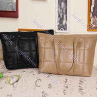 Wholesale 2013 Vintage handbags women bags Lady bags leather large bag simple design Black amp Camel Abib