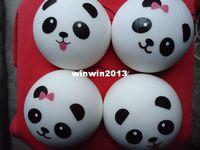 Wholesale 20pcs cm Jumbo panda bun squishy