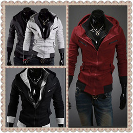 Wholesale 2013 New Men s Slim Top Designed Casual Jacket For Men Winter Outdoors Overcoat Hoodies Size Colors