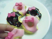 Wholesale 20pcs cute rare kawaii cm cake squishy Cell Phone strap squishies buns wholesales