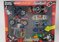 Wholesale Finger toys set Finger skateboard Finger Bike Finger Snowboard Skates Motorcycle