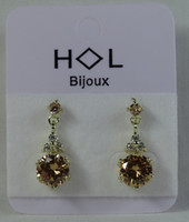 Wholesale The new zircon earrings10