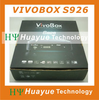 Wholesale original vivobox s926 free iks sks dvb s2 receiver with twin tuner nagra decoder better than az america s930a