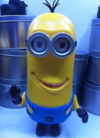 Wholesale Hot Minions Speaker Portable DESPICABLE ME Mini Speaker MP3 MP4 Player Amplifier table PC Louderspeaker Portable Micro SD TF Card
