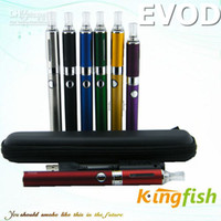 Wholesale Kingfish mah Electronic Cigarette E Cigarette Kanger Evod MT3 Evod Atomizer ego Cigarette Evod Battery Mini ego kit colorfu E cigl
