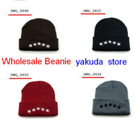 Newest Style 40 OZ NY Stars Beanie, Hip pop mens caps winter ...