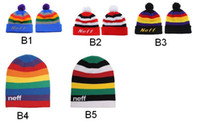 Neff Rainbow Beanie, Neff Beanie, Hip Pop Winter Hats, Beanies ...