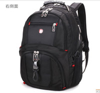 Wholesale NEW Best quality SWISSWIN Victorinox laptop backpack double shoulder bags