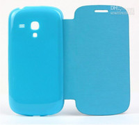 Cheap For Samsung s3 mini flip cover Best Leather  i8190 flip cover