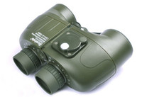Wholesale Waterproof Bosile x50 Marine Army Military Binoculars With Compass And Rangefinder Reticle