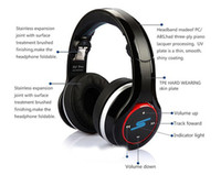 Wholesale Hot DJ PRO Sync by SMS Audio SL600 Bluetooth Wired And Wireless Noise Cancel Street by Over Ear Headsets Hifi Headphones