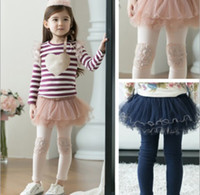Children's Leggings Cotton Thick Yarn bottoming culottes Chi...