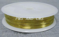 Wholesale Brass Wire Nickel Free Golden about mm in diameter m roll
