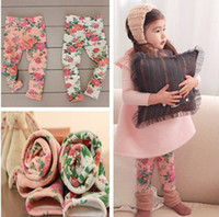 Children's winter Leggings Printed Leggings thicker Children...