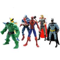 The Avengers Marvel Hero America Spiderman Captain Thor Batm...