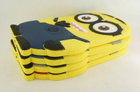 Wholesale 30PCS Despicable Me Cartoon Soft Pouch Cover Case for iPad Mini inch tablet big eye Me more minions