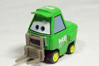 Wholesale Pixar Cars Diecast CHICK HICKS Pit Crew Fork Lift HTB