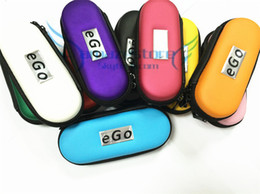 Hottest Ego Case with Zipper L M S Size Ego Box Ego Bag for Electronic Kit Cigarette ego cigarette case 10 Colors free shipping