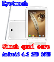 OEM 8 inch Quad Core ET Free Shipping High quality M88 Quad Core 8inch Tablet pc MID MTK8389 16G 2G 1280*800 Android 4.2 3G Phone Call Tablet Bluetooth GPS 1