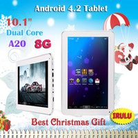 Wholesale iRulu quot Inch Allwinner A20 MID Tablet PC Android Dual Core Capacitive GHZ GB DDR G Dual Web Camera HDMI WIFI