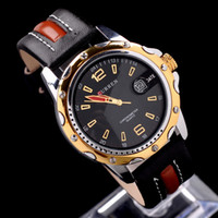 Wholesale Luxury Golden Man Mens Analog Dress Gift Date Clock Hand Quartz Wrist Watches M81041