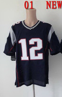 Football Unisex Short Tom Brady 12 Blue American Football Jerseys have all brand jersey in stock free ship accept customize Free Ship