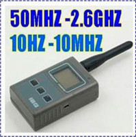 Wholesale Portable Handheld Frequency Counter IBQ102 Wide Range HZ M and M G Portable Frequency Counter Multi Function LCD