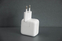 Wholesale high quality W V mA USB wall charger Power Adapter For iPad EU Plug retail package