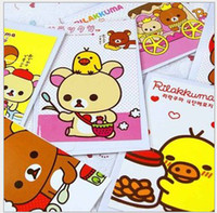 scratch card - Holiday card birthday card Cute Cartoon Bear Postcard Small Bear Greeting Cards Korea Stationery Office Scratch Pad