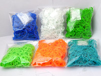 Wholesale Xmas Gift Rainbow Loom Silicon Rubber Band Refills Twistz Bandz bands S C Clips sets