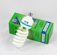 Wholesale 150W E27 K CFL Photography Lighting Video Bulb Daylight Balanced E27 k Energy Saving Fluorescent Lamp Photo Studio