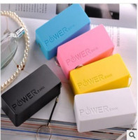 Cheap 6 colors mini power bank 5600mah Best Universal Direct Chargers 5600mah External battery