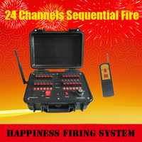 Wholesale FedEX sequential fireworks Firing system M remote control waterproof case cues Fireworks Firing System