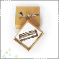 Electronic Cigarette Atomizer  Stainless Steel Steam Turbine Atomizer Fit For Nemesis Mod Chiyou Atomizer