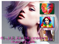 Wholesale Hot Selling colours High Quality Fashion Non toxic Temporary Color Hair Chalk Bug Dye Soft Pastel Chalk Salon Kit With Good Price